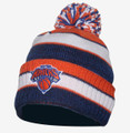 New York Knicks Cuffed Stripe Beanie Front