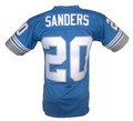 Detroit Lions Barry Sanders Mitchell & Ness Throwback Jersey Back