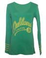 Oakland Athletics Kelly Green Rivalry Shirt