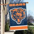 """Chicago Bears 44"""" x 28"""" Banner Flag"""