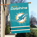"Miami Dolphins 44"" x 28"" Banner Flag"