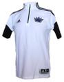 Sacramento Kings On Court adidas 1/4 Zip Shooting Shirt Front