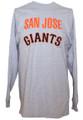 San Jose Giants Grey Long Sleeve Shirt