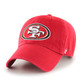 NFL San Francisco 49ers '47 Brand CleanUp Slouch Adjustable Hat Team Color