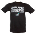 AHL San Jose Barracuda CCM Iced Over T-Shirt - Black
