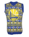 NBA Golden State Warriors Men's Ugly Sweater Vest