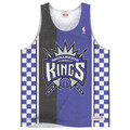 Sacramento Kings Shot Clock Mitchell & Ness Tank Top