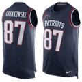 New England Patriots Rob Gronkowski Nike Dri-Fit Player Tank Top