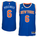 Kristaps Porzingis New York Knicks Road Swingman Jersey
