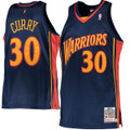 Stephen Curry Golden State Warriors Mitchell & Ness 2009-10 Hardwood Classics Rookie Authentic Jersey