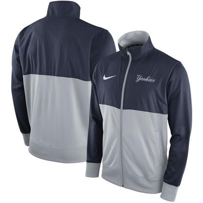 New York Yankees Nike Full-Zip Track Jacket in Blue