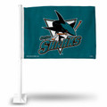 Official NHL San Jose Sharks Car Flag