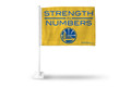 GOLDEN STATE WARRIORS OFFICIAL NBA CAR FLAG