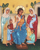 Icon of Suffer the Little Children - (11P32)