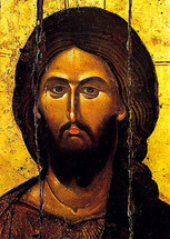 Icon of Christ the Pantocrator - 14th c. Vatopedi Monastery - (11S15)