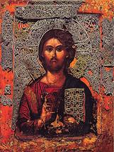 Icon of the Christ the Teacher - Vatopedi Monastery - (11S14)