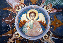 "Christ the ""Angel of Great Council"" - 14th c. Mount Athos - (11S31)"