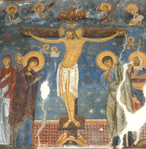 Icon of the Crucifixion (Studenitsa) - (SCS10)