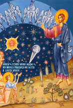 Icon of The Creation of the Stars - (11T08)