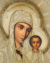 Icon of the Kazanska - (12K01)