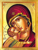 Icon of the Tender Mercy - (12G57)