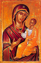 Icon of the Directress - 16th c. Theophan the Cretan - (12G54)
