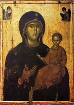 Icon of the Directress - 14th c. Serres - (12G51)