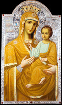 "Icon of the Theotokos ""Quick to Hear"" (St. Tikhon's Msty.) - (12G25)"