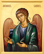 Icon of the Archangel Gabriel - 20th c. - (1GA11)