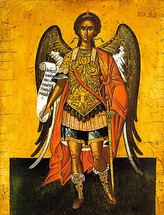 Archangel Michael - 16th c. Cretan - (1MI11)