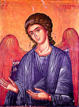 Icon of the Archangel Gabriel, 13th c. Protaton - (1GA15)