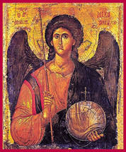 Archangel Michael - 14th c. Mt. Sinai - (1MI17)