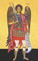 "Icon of the Archangel Michael - ""Chief Commander"" - (1MI20)"