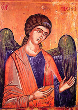 Archangel Michael, 13th c. Protaton - (1MI21)