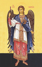 "Icon of the Archangel Gabriel - ""Chief Prince"" - (1GA14)"