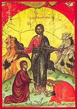 Greeting Myrrh-Bearers - 16th c. Theophan the Cretan - (11L16)