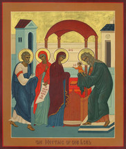 Icon of the Meeting of the Lord - (11B04)