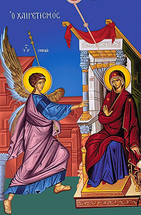 Icon of the Annunciation - 20th c. - (12D04)