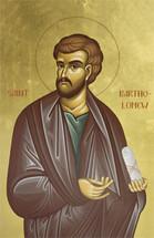Icon of St. Bartholomew the Apostle (Nathaniel) - Twelve Apostles Series - (1BA31)