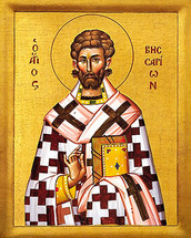 Icon of St. Bessarion - 20th c. - (1BE10)