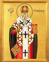 Icon of St. Epiphanios - 20th c. - (1EP40)