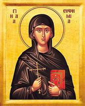 Icon of St. Euphemia - 20th c. - (1EU22)