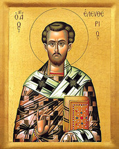 Icon of St. Eleutherios - 20th c. - (1EL10)
