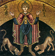 Icon of the Holy Prophet Daniel - 10th c. - (1DA23)