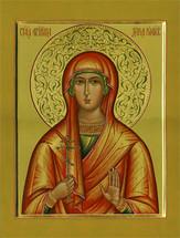 Icon of St. Daria - 20th c. - (1DA30)