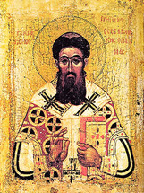 Icon of St. Gregory Palamas - 14th c. Constantinople - (1GP10)