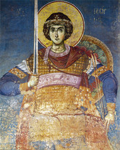 St. George - 14th c. Panselinos - (1GE17)