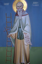 St. John of the Ladder - 20th c. English - (1JL11)