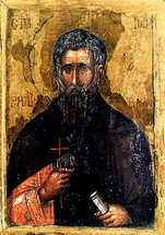 Icon of St. John of Rila - 16th c. Bulgarian - (1JR10)