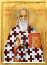 Icon of St. Justin (Popovich) of Serbia - (SJP11)